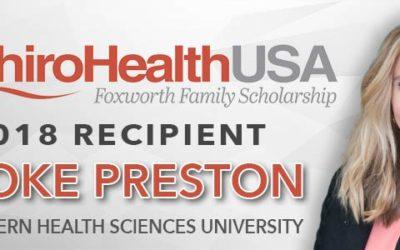 ChiroHealthUSA Awards 2018 $25,000 Chiropractic Scholarship