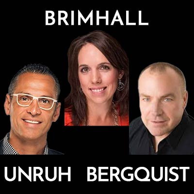 Dr. Alan Bergquist, Dr. Nathan Unruh & Brandy Brimhall